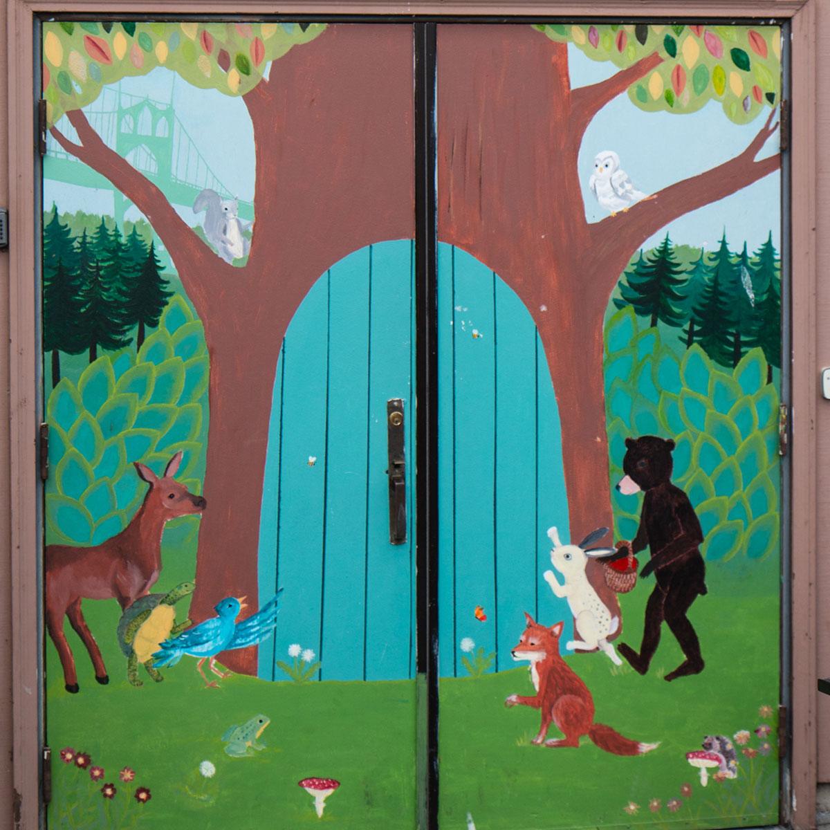 Doors at St. Johns Swapnplay